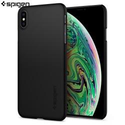 Carcasa Spigen iPhone XS Max Thin Fit, Matte Black