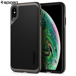 Spigen iPhone XS Max Case Neo Hybrid, Gunmetal