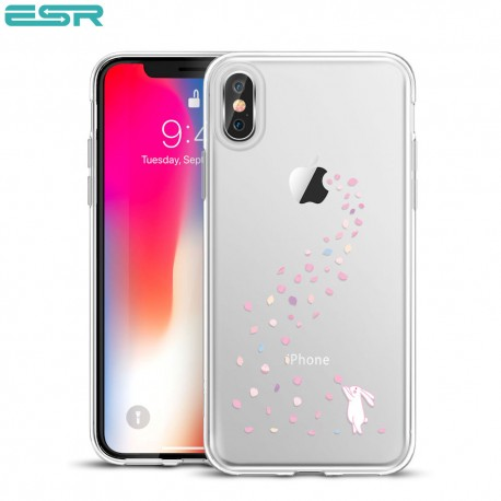 ESR Mania case for iPhone X, Floral Bunny