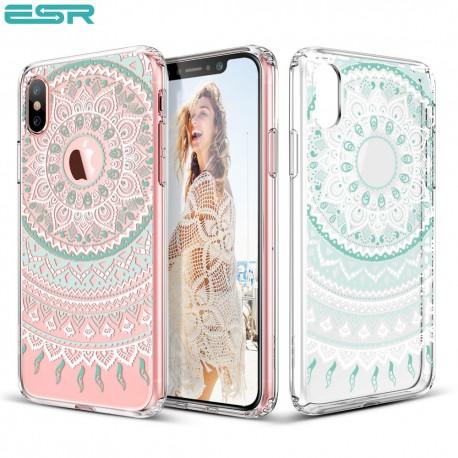 Carcasa ESR Totem iPhone X, Mint Mandala