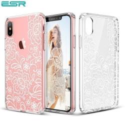 Carcasa ESR Totem iPhone X, Lace Ice Flower