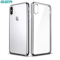 ESR Eseential Twinkler slim cover for iPhone X, Silver