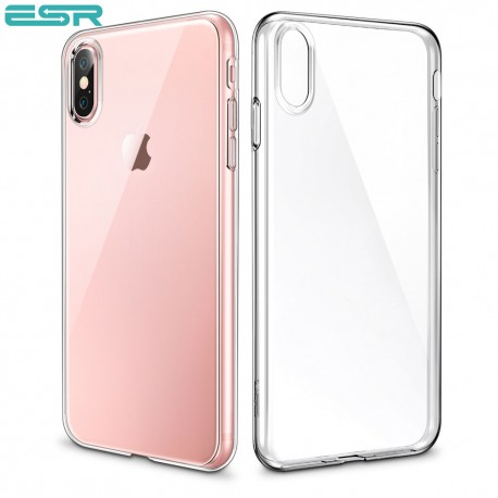 Husa slim ESR Eseential Zero iPhone X, Clear White