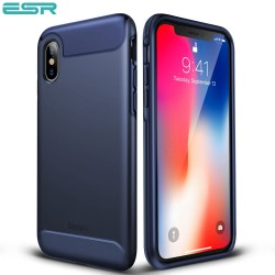 ESR Rambler case for iPhone X, Purplish Blue