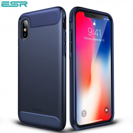 ESR Rambler case for iPhone X, Purplish Blue