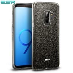 Carcasa ESR Makeup Glitter Samsung Galaxy S9, Black
