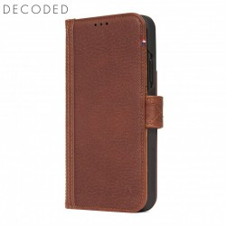 Decoded leather Card Wallet for iPhone XS Max, Brown