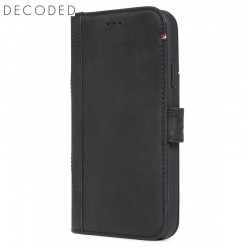 Carcasa piele Decoded Card Wallet iPhone XR, Black