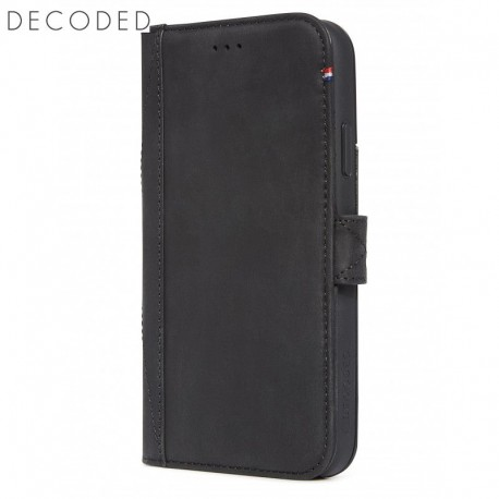 Decoded leather Card Wallet for iPhone XR, Black