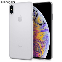 Carcasa Spigen iPhone XS Max AirSkin, Soft Clear