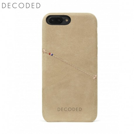 newest eb3a9 e5a7a Decoded leather Back Cover for iPhone 8 Plus, 7 Plus, 6s Plus, 6 Plus,  Sahara