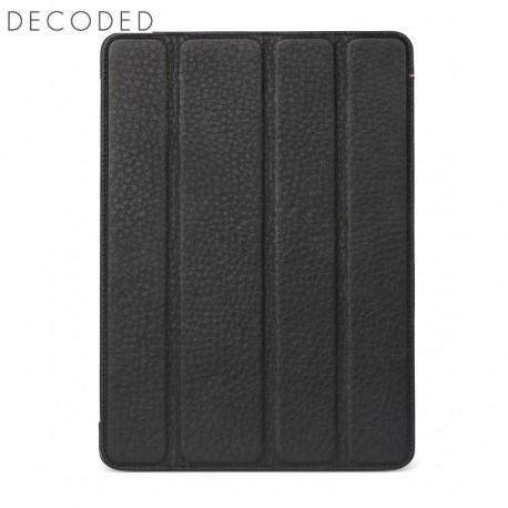 Carcasa piele Decoded Tablet Slim Cover iPad 2018 si iPad 2017, Black