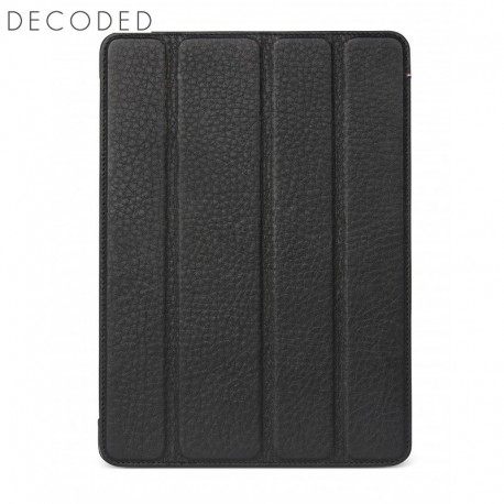 Decoded leather Tablet Slim Cover for iPad 2018 and iPad 2017, Black
