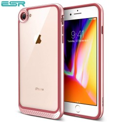 ESR Bumper Hoop case for iPhone 8 / 7, Rose Gold