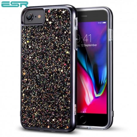 ESR Glitter case for iPhone 8 / 7, Black