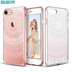 ESR Totem case for iPhone 8 / 7, Pink Manjusaka