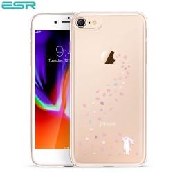 Carcasa ESR Mania iPhone 8 / 7, Floral Bunny