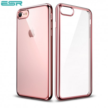 more photos d9cd9 7e6ee ESR Essential Twinkler slim cover for iPhone 8 / 7, Rose Gold