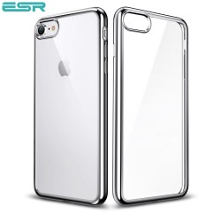 Husa slim ESR Essential Twinkler iPhone 8 / 7, Silver