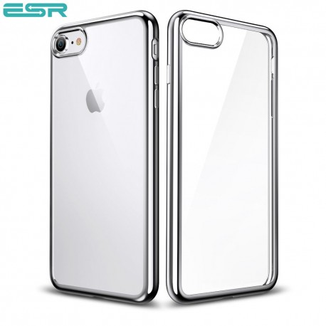 ESR Essential Twinkler slim cover for iPhone 8 / 7, Silver