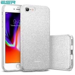 ESR Makeup Glitter case for iPhone 8 / 7, Silver