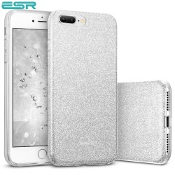 ESR Makeup Glitter case for iPhone 8 Plus / 7 Plus, Silver