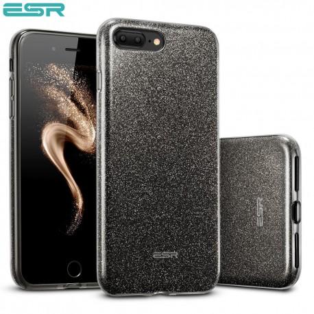 ESR Makeup Glitter case for iPhone 8 Plus / 7 Plus, Black