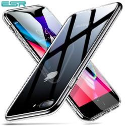 Carcasa ESR Mimic 9H Tempered Glass iPhone 8 Plus / 7 Plus, Clear