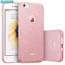 Carcasa ESR Makeup Glitter iPhone 6s / 6, Rose Gold