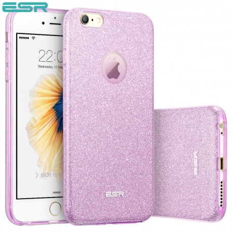 Carcasa ESR Makeup Glitter iPhone 6s / 6, Purple