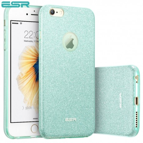 ESR Makeup Glitter case for iPhone 6s / 6, Green