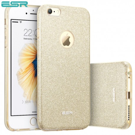 ESR Makeup Glitter case for iPhone 6s / 6, Champagne Gold