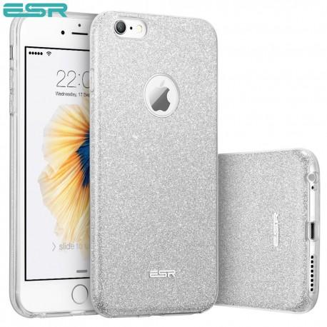 ESR Makeup Glitter case for iPhone 6s Plus / 6 Plus, Maze Silver