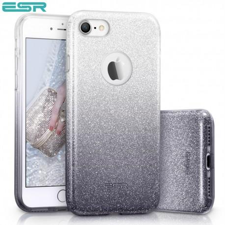 ESR Makeup Glitter Sparkle Bling case for iPhone 8 / 7, Ombra Black