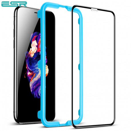 Folie sticla securizata ESR, Tempered Glass Full Coverage iPhone XS Max