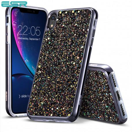 Carcasa ESR Glitter iPhone XR, Black