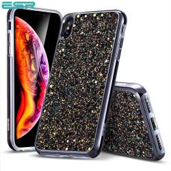 Carcasa ESR Glitter iPhone XS Max, Black
