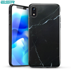 ESR Marble case for iPhone XR, Black