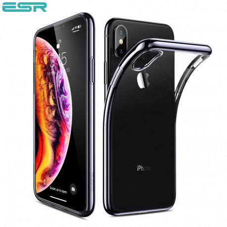 Husa slim ESR Eseential Twinkler iPhone XS Max, Black