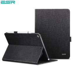 Carcasa ESR Simplicity Holder iPad 9.7 inch 2017 / 2018, Black