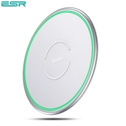 ESR Tidal Metal-Frame Qi Wireless Charging, Silver