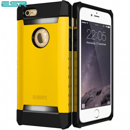 Carcasa ESR Hero Alliance iPhone 6s / 6, Yellow