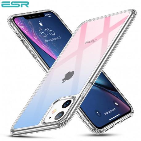 Carcasa ESR Mimic iPhone 11, Red Blue