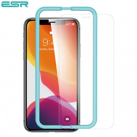 Folie sticla securizata ESR, Tempered Glass iPhone 11 Pro / XS / X