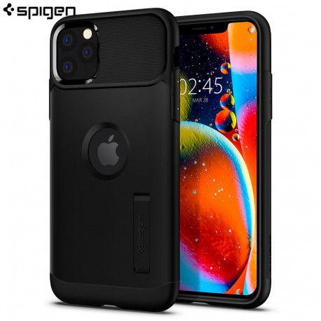 Carcasa Spigen iPhone 11 Pro Max Slim Armor, Black