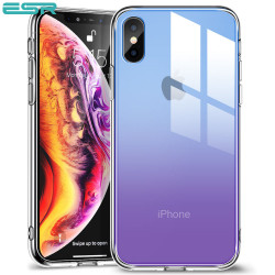 Carcasa ESR Mimic iPhone XS / X, Purple Blue