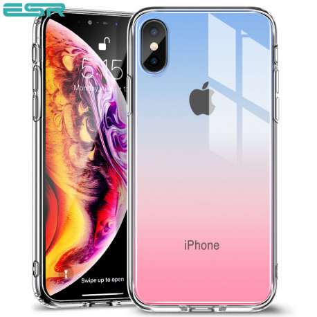 ESR Mimic case for iPhone XS Max, Red Blue