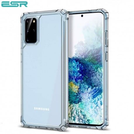 ESR Air Armor Clear Protective Case for Samsung Galaxy S20 Plus, Clear