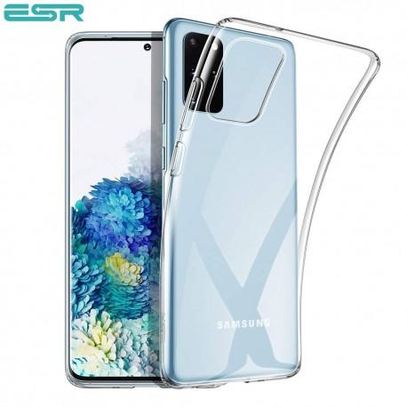 Husa slim ESR Essential Zero Slim Clear Soft TPU Case pentru Samsung Galaxu S20 Plus, Clear