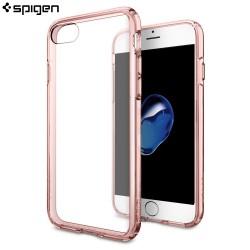 Carcasa SpigeniPhone 7 Case Ultra Hybrid roz